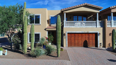 Tucson Townhouse For Sale: 7660 N Viale Di Buona Fortuna