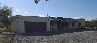 Pima County, Pinal County Single Family Home For Sale: 10050 E Catalina Highway