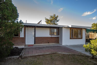 Pima County Single Family Home Active Contingent: 6762 S Leary Drive