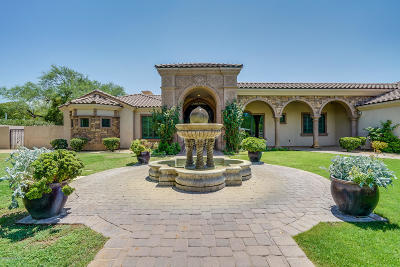 Tucson Single Family Home For Sale: 6100 E San Marino