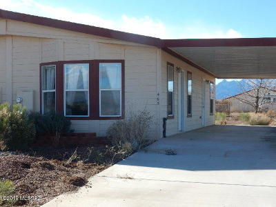 Cochise County Townhouse For Sale: 465 N Shadow Mountain Court