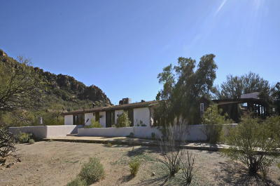 Pima County Single Family Home For Sale: 5125 S Caballo Road