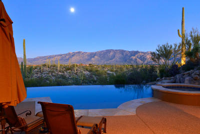 Oro Valley Single Family Home Active Contingent: 14028 N Honey Bee Trail