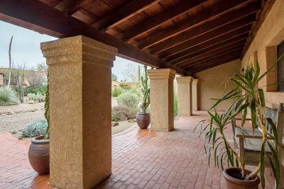 Tucson Single Family Home Active Contingent: 8130 E Ridgebrook Drive