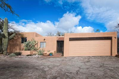 Pima County, Pinal County Single Family Home Active Contingent: 2811 N Tomahawk Trail
