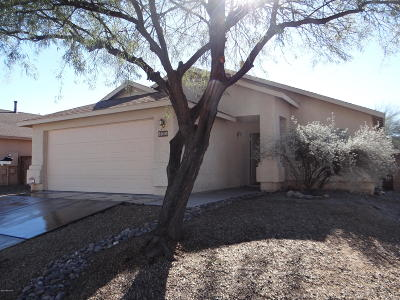 Pima County, Pinal County Single Family Home Active Contingent: 8010 E Sundew Drive