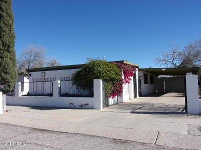 Tucson Single Family Home For Sale: 3445 S Jessica Avenue