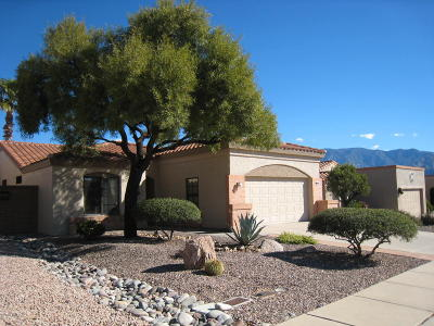 Oro Valley Single Family Home Active Contingent: 14276 N Copperstone Drive