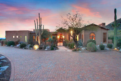 Tucson Single Family Home For Sale: 7981 N Barrel Cactus Drive