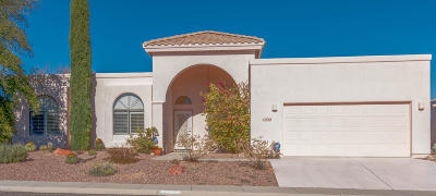 Oro Valley Single Family Home Active Contingent: 11724 N Cassiopeia Drive