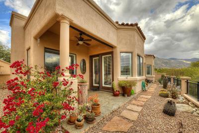 Single Family Home Active Contingent: 6110 N Via Del Tecaco