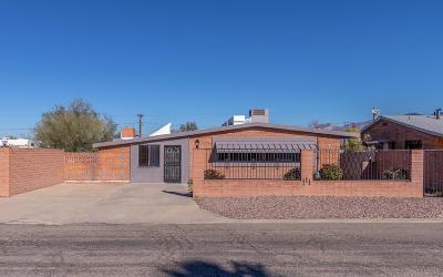 Tucson Single Family Home For Sale: 409 E Lester Street