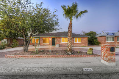 Tucson Single Family Home For Sale: 4833 E Cooper Street