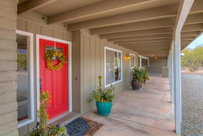Tucson Single Family Home Active Contingent: 4501 N Avenida De Paz