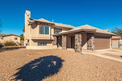 Tucson Single Family Home Active Contingent: 7480 S Via Del Promontorio