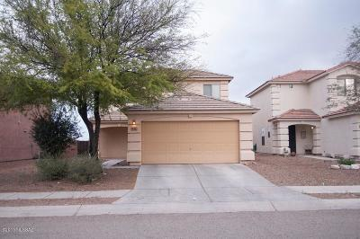 Tucson Single Family Home Active Contingent: 2838 N Silver Island Way