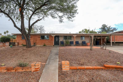 Tucson Single Family Home Active Contingent: 6950 E Kingston Drive