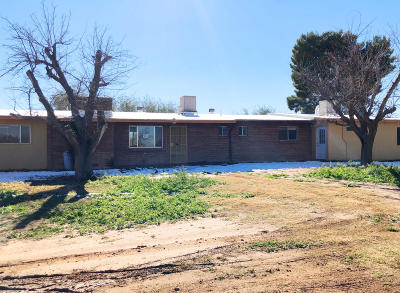 Sahuarita Single Family Home Active Contingent: 4040 E Dawson Road