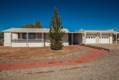 Pima County Manufactured Home Active Contingent: 8195 S Vandemoer Lane