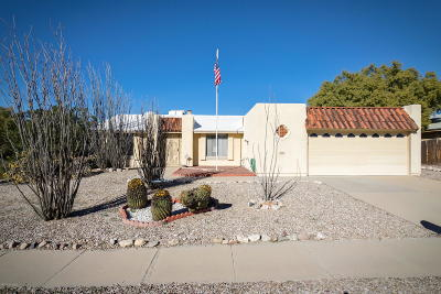 Pima County, Pinal County Single Family Home Active Contingent: 9901 E Hawthorne Street