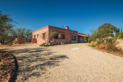 Tubac Single Family Home For Sale: 14 Circulo Primeria Alta
