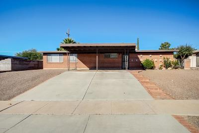 Tucson Single Family Home For Sale: 8439 E 19th Street