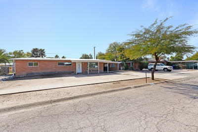 Pima County Single Family Home Active Contingent: 6002 E 17th Street