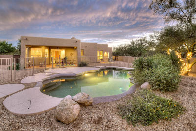 Oro Valley Single Family Home Active Contingent: 1030 W Saddlehorn Drive
