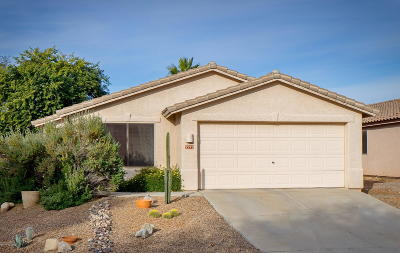 Tucson Single Family Home For Sale: 2272 W Tortolita Bluffs Drive