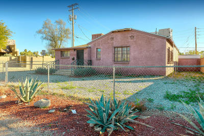Pima County Single Family Home For Sale: 1824 E Grant Road