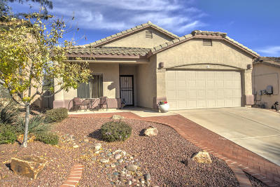 Sahuarita Single Family Home Active Contingent: 91 E Via Teresita