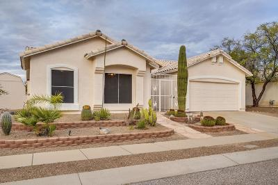 Tucson Single Family Home Active Contingent: 10111 E Paseo San Bernardo