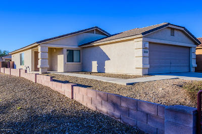 Pima County Single Family Home Active Contingent: 4168 E Agate Knoll Drive
