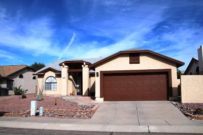 Tucson Single Family Home For Sale: 2630 W Camino Del Medrano