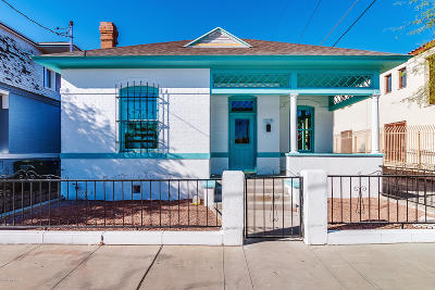 Pima County, Pinal County Single Family Home For Sale: 117 E 14th Street
