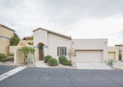 Tucson Townhouse For Sale: 4598 E Red Mesa Drive