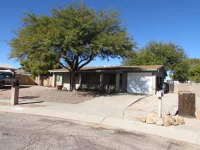 Pima County, Pinal County Single Family Home Active Contingent: 8013 E Almond Place