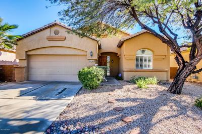 Tucson Single Family Home Active Contingent: 2905 W Desert Glory Drive