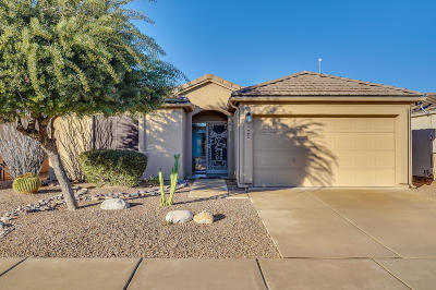 Tucson Single Family Home Active Contingent: 8530 S Masthead Drive