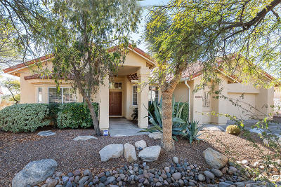 Pima County, Pinal County Single Family Home Active Contingent: 3635 N River Ridge Place