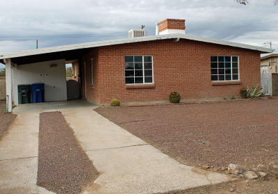Pima County Single Family Home Active Contingent: 3341 N Montezuma Avenue