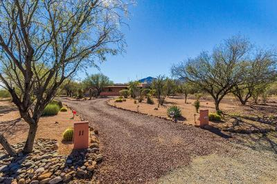 Tubac Single Family Home For Sale: 11 Piedra Drive
