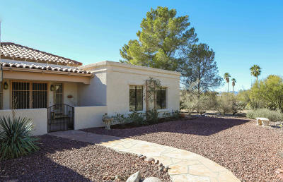 Tucson Single Family Home Active Contingent: 1162 E Paseo Pavon