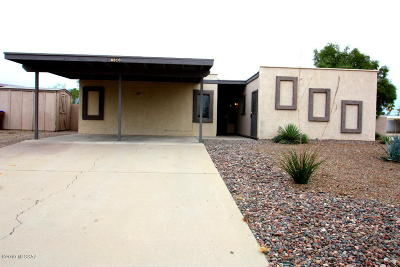 Tucson Single Family Home Active Contingent: 6816 N Autumn Place
