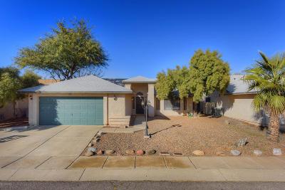 Tucson Single Family Home Active Contingent: 2550 W Camino De La Caterva