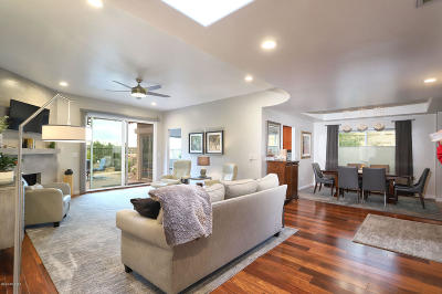 Tucson Single Family Home Active Contingent: 812 E Camino Diestro