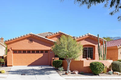 Oro Valley Single Family Home Active Contingent: 10700 N Hewitt Place