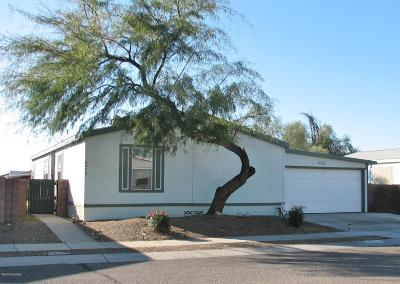Pima County Manufactured Home For Sale: 6078 E Rough Rock Drive