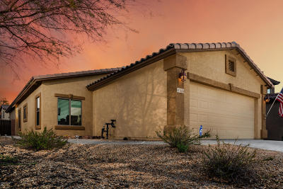 Pima County, Pinal County Single Family Home Active Contingent: 7626 E Majestic Palm Lane