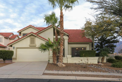 Oro Valley Single Family Home Active Contingent: 11590 N Quicksilver Trail